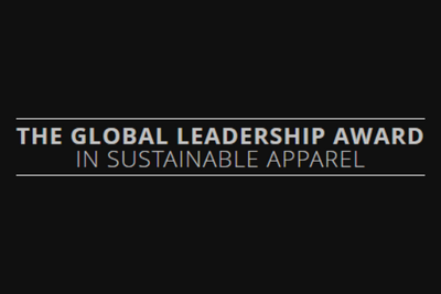 Global Leadership Award in Sustainable Apparel 2014